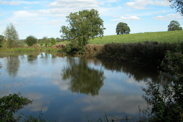Pool near Frogmore, Pontshill
