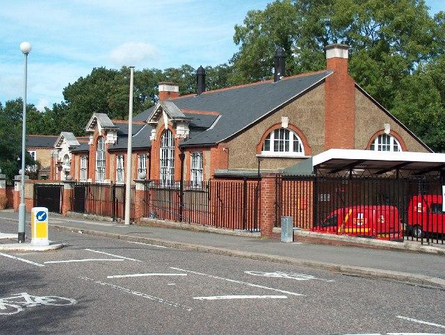 Dulwich Postal Delivery Office, Alleyn Park.