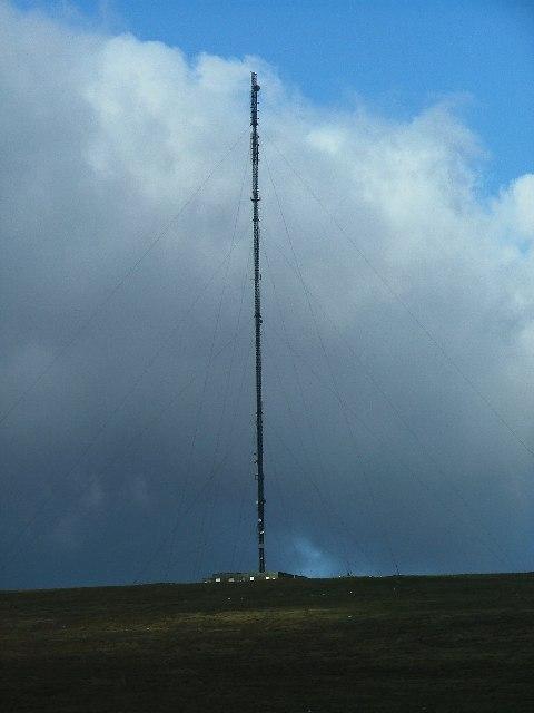 North Hessary TV Mast, Princetown