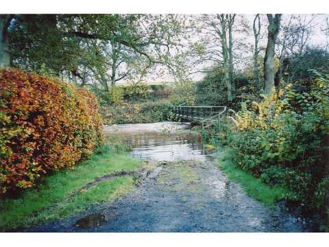 Ford through Eden Water at Nenthorn