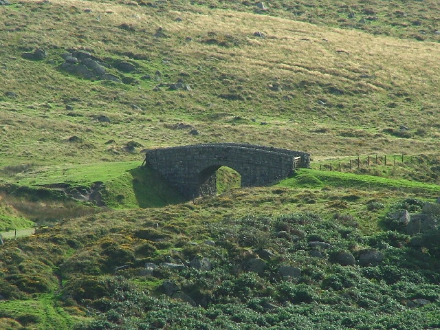 Bridge to Nowhere, Princetown Railway