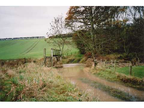 Ford through Leet Water at Darnchester