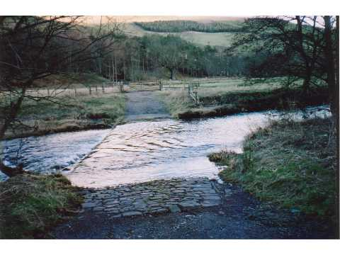 Ford through Kale Water near Morebattle