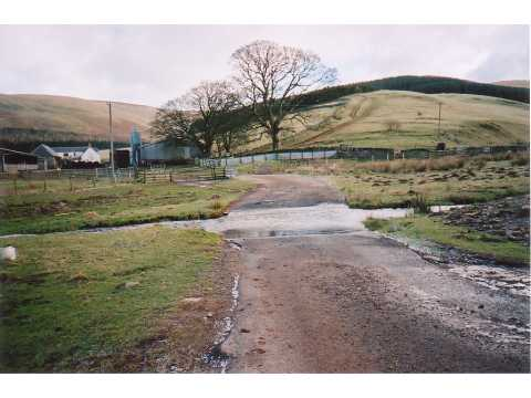 Ford and farm, Cocklawfoot