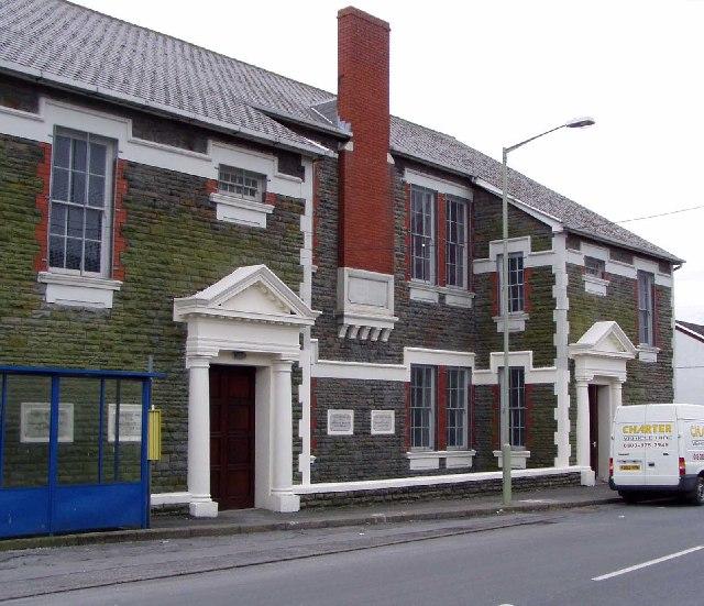 Former Miners' Institute, Nantyffyllon, nr. Maesteg