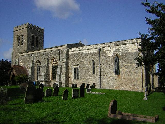 St.Peter's church, Laneham, Notts.