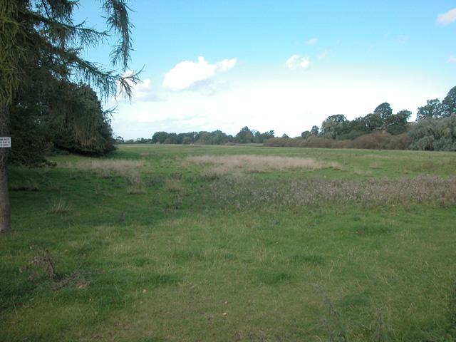 River Dee flood plain.
