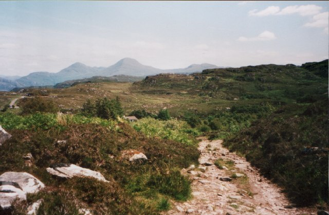 The path to Smirisary, near Glenuig