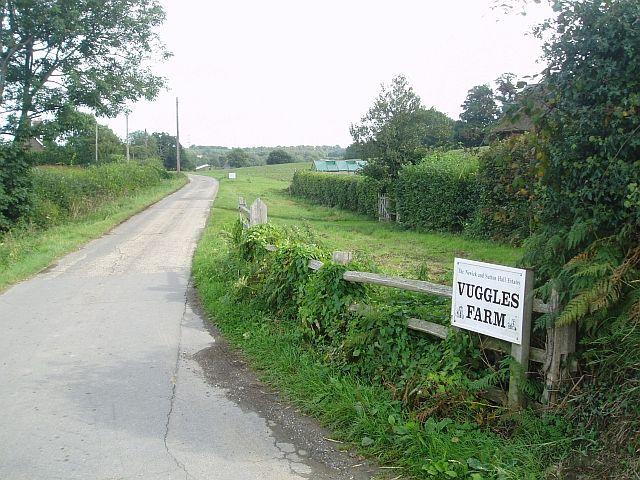 Vuggles Farm lane