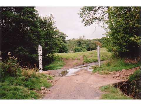 Irish bridge near Heugh