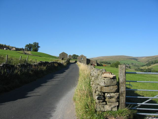 Road from Keld to Tan Hill