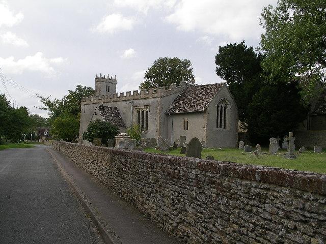 Charney Bassett Church