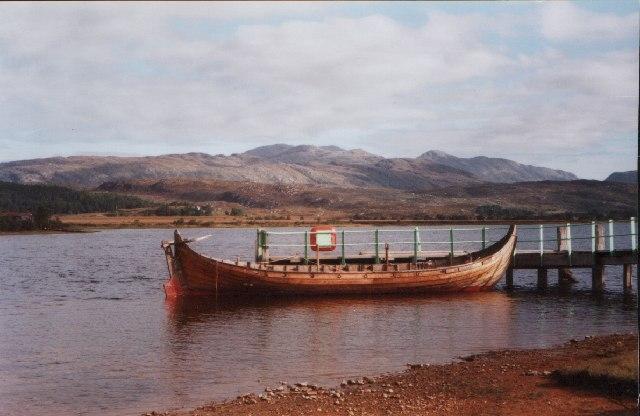 Viking Longboat, Acharacle