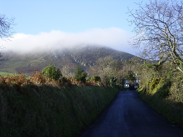 "The approach to ""The Hibernian"", Maughold."