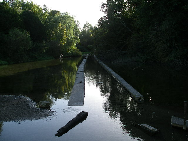 Old watercress beds at Letcombe Bassett