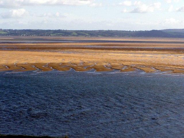 Sand Banks, Burry Estuary .