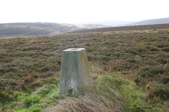 Trig point on Kelman Hill