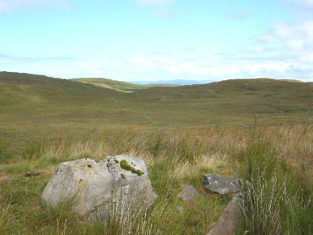 Moorland on the peninsula of Kintyre between Killean and Carradale