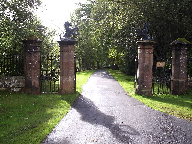 Ardross Castle Gates
