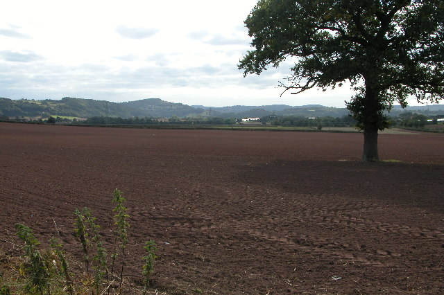 View of the Wye valley just south of Ross-on-Wye