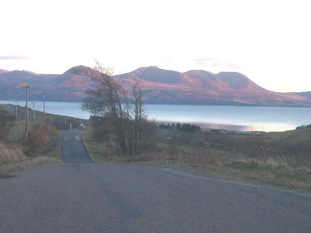 Claonaig by Skipness, Kintyre.