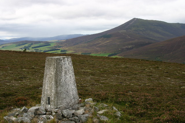 Trig point on Jocks Hill