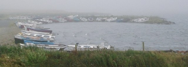 Boats on Harray Loch