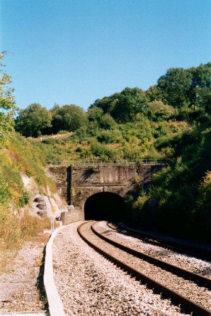 Brunel tunnel entrance near Sapperton