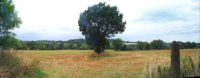 Farmland south of West Hallam Storage Depot