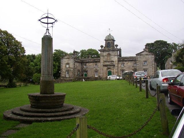 Fountaine Hospital and Sundial, Linton