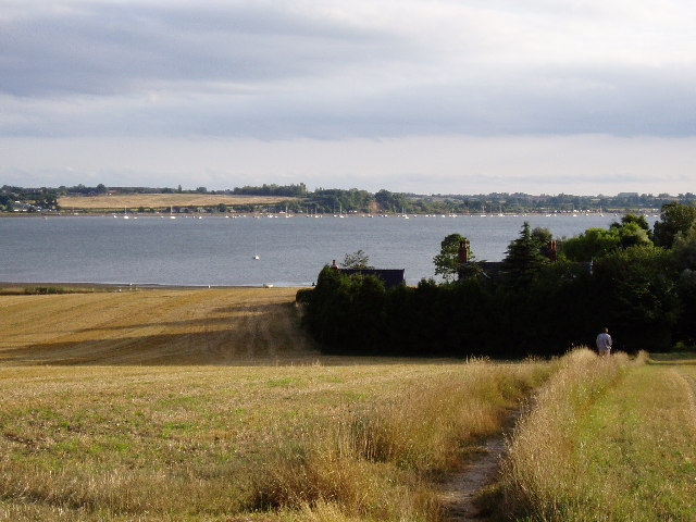 River Stour from Harkstead Village