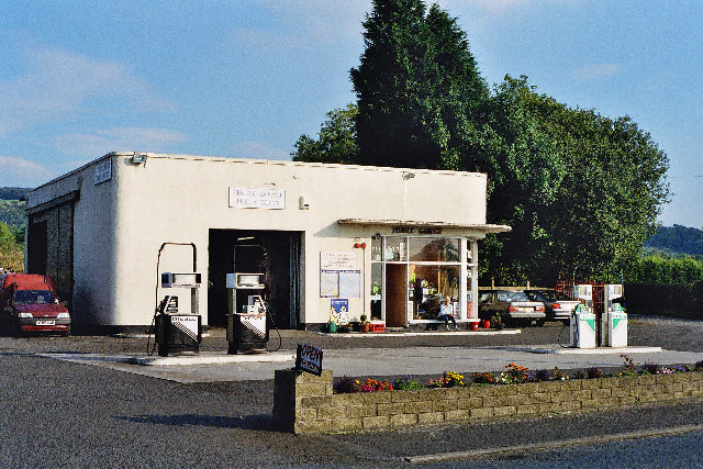 Filling Station , Barrow nr Whalley