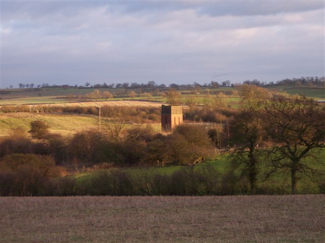 Disused Railway Water Tower, Woodford Halse, Northants.