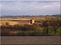 SP5454 : Disused Railway Water Tower, Woodford Halse, Northants. by Ralph Rawlinson