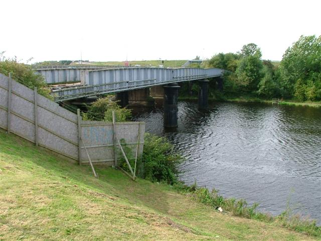 Disused Railway Bridge Over the River Tees