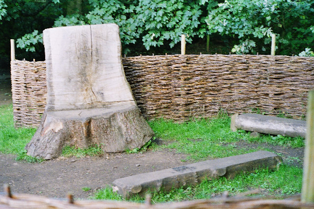 Teaching seat, Spring Wood, Whalley