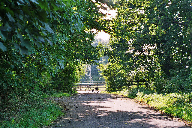 The old main road to Skipton