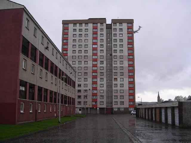 Yoker Tower Block