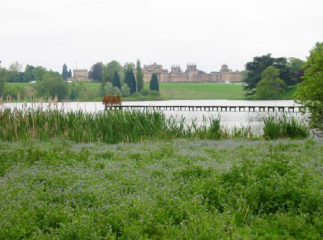 The Queen Pool, grounds of Blenheim Palace