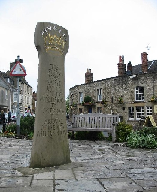 Millennium stone, Woodstock