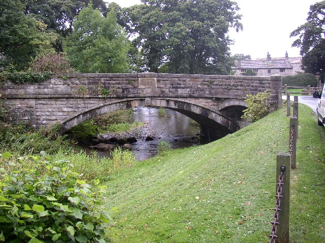 The road bridge, Linton
