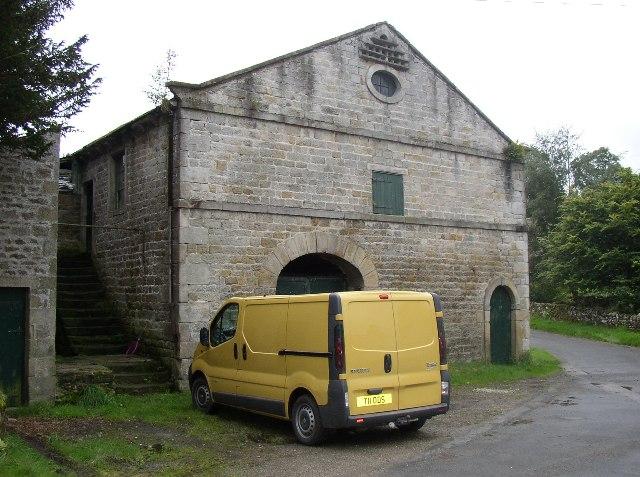 Barn with nice stonework, Thorpe