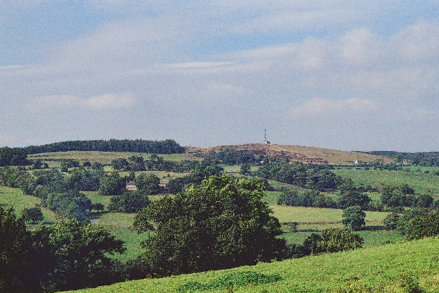 Radio Mast on Wiswell Moor