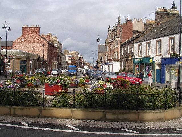 Centre of Dunbar