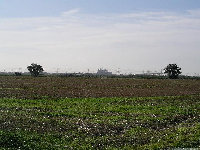 Distant Keadby Powerstation