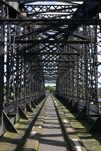 Railway bridge over the river Spey
