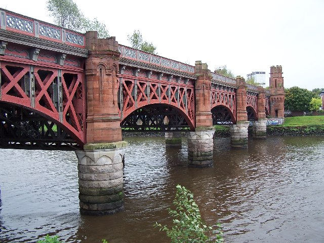 Union railway bridge, Glasgow