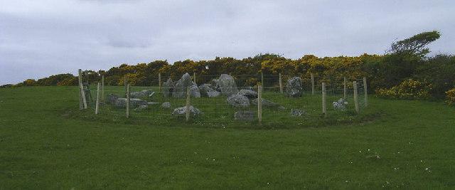 Ballakelly Cairn, Santon
