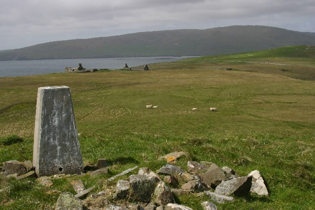 Trig point - Helli Ness