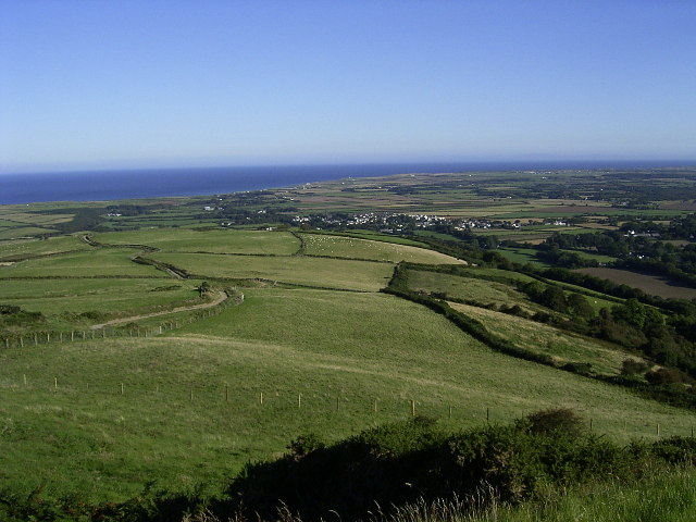 Fields above Ballacurn Mooar